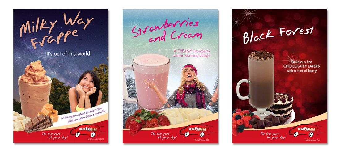 Branding & Online marketing Sydney for Cafe2U