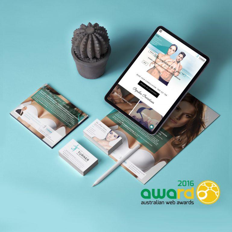 Website redesign and Branding for Dr. Turner