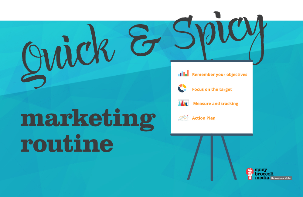 Quick & Spicy Marketing routine