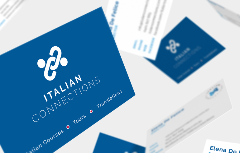 Logo & Website Design for Italian Connections