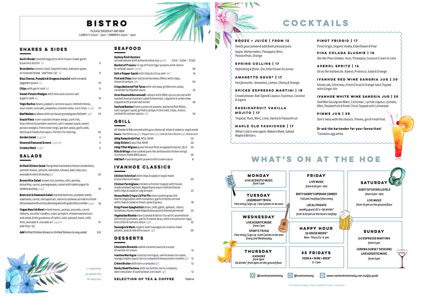 Restaurant Menu Design Services Spicy Broccoli Media