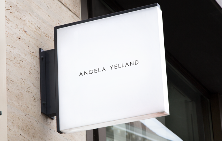 Branding for Angela Yelland Hair Stylists