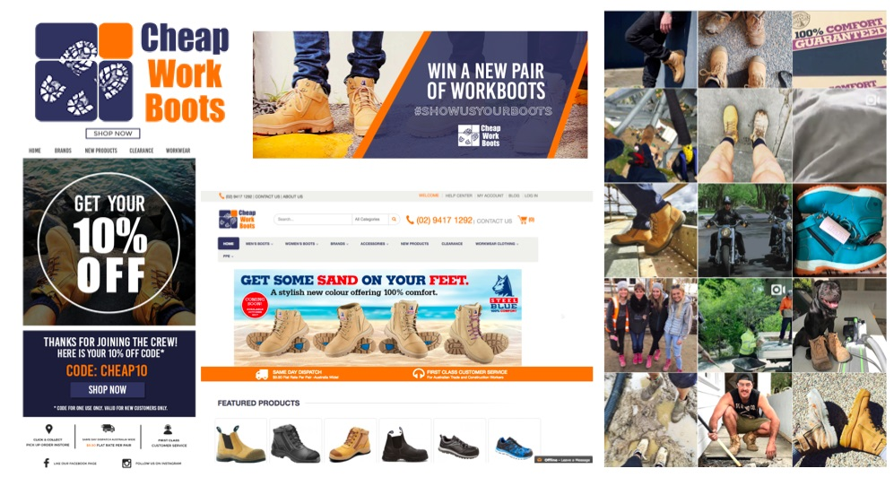 Marketing for Cheap Work Boots