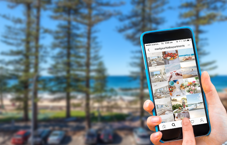 Social Media Marketing for Manly Surf Side Apartments