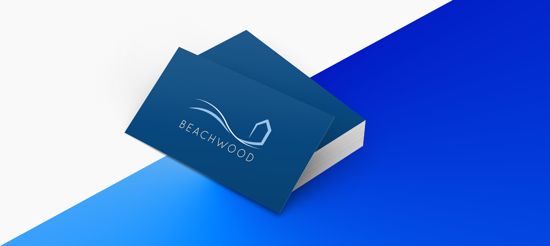 Beachwood Business Card Design