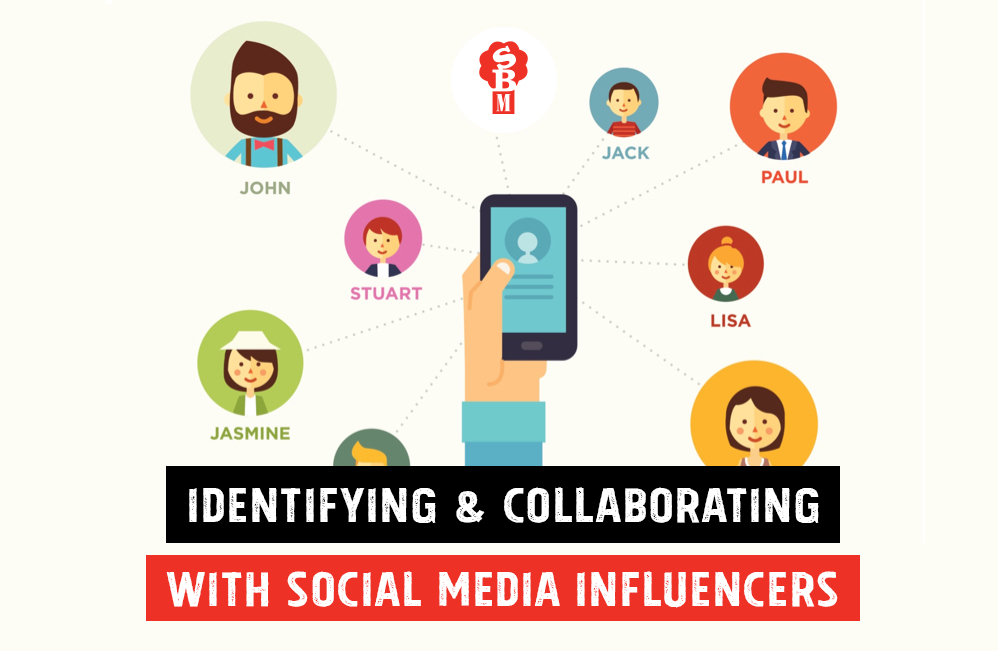 Identifying and Collaborating with Social Media Influencers
