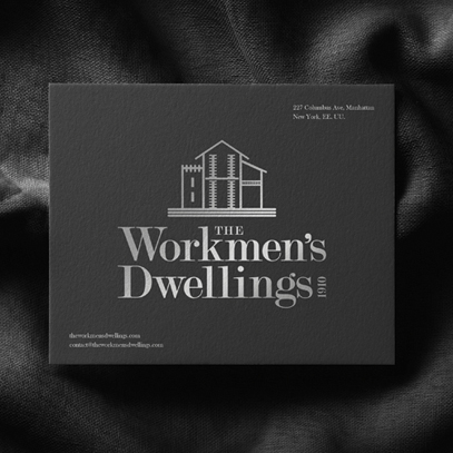Branding for The Workmen's Dwellings