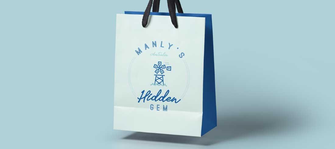 Printed bag design