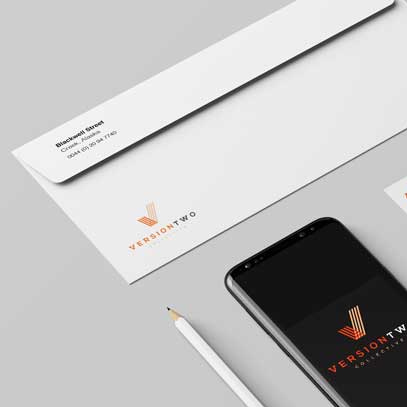 Branding for Version Two Collective