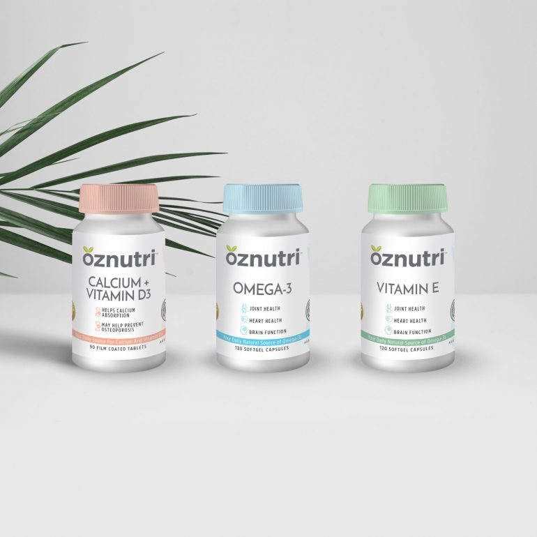 Branding and Packaging Design for OZNutri