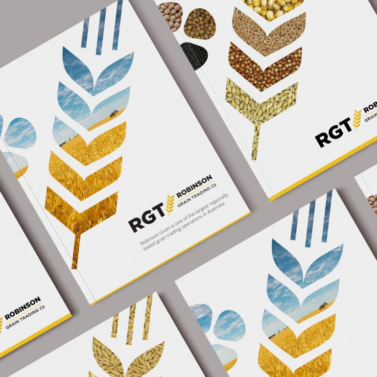Logo Refresh for Robinson Grain Trading Co